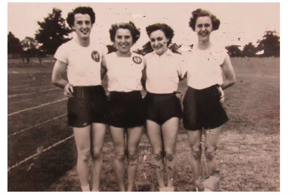 Betty Smith 2nd from left